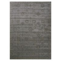 Nourison Luminance Geometric 9'3 x 12'9 Area Rug in Graphite