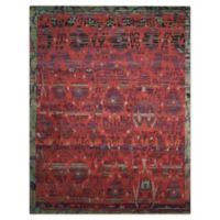 Nourison™ Dune Pomegranate 12' X 15' Hand-Knotted Area Rug in Pomegranate