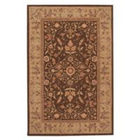 "Nourison™ Heritage Hall Brown 3'9"" X 5'9"" Tufted Area Rug in Brown"
