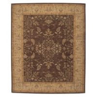 "Nourison™ Heritage Hall Brown 7'9"" X 9'9"" Tufted Area Rug in Brown"
