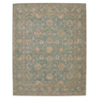 "Nourison™ Heritage Hall Aqua 7'9"" X 9'9"" Tufted Area Rug in Aqua"