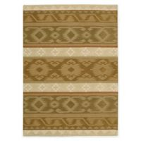 Nourison India House 2'6 x 4' Accent Rug in Camel