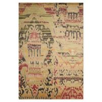 "Nourison™ Dune Earth 7'9"" X 9'9"" Hand-Knotted Area Rug in Earth"