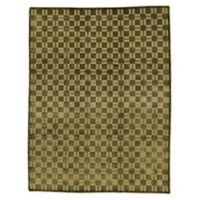 "Bokara® Bokara Ooak 9'3"" X 12' Hand-Knotted Area Rug in Light Green"