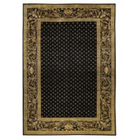 "Bokara® Bokara Ooak 12'2"" X 17'8"" Hand-Knotted Area Rug in Black"