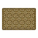 Bungalow Flooring New Wave 18-Inch x 27-Inch Tin Tile Bronze Door Mat