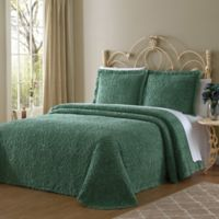 Wedding Ring Standard Pillow Sham in Green