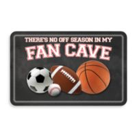 Bungalow Flooring New Wave 18-Inch x 27-Inch Fan Cave Door Mat