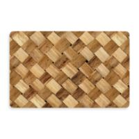 Bungalow Flooring New Wave 18-Inch x 27-Inch Basketweave Door Mat
