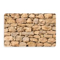 Bungalow Flooring New Wave 18-Inch x 27-Inch Stacked Stones Door Mat