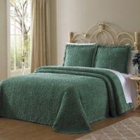 Wedding Ring King Bedspread in Green