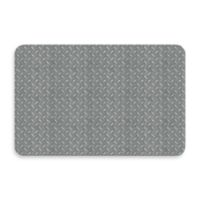 Bungalow Flooring New Wave 18-Inch x 27-Inch Diamond Plate Door Mat