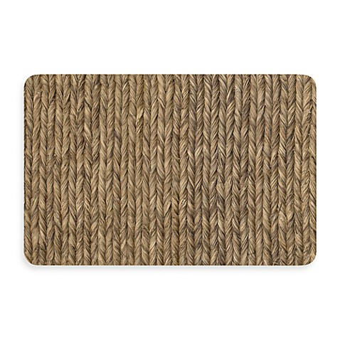 Bungalow flooring new wave 18 inch x 27 inch rope weave for Rope bath mat