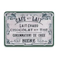 Bungalow Flooring New Wave 22-Inch x 31-Inch French Chocolate Green Door Mat