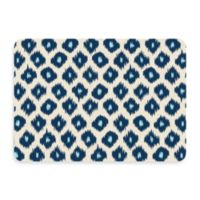 Bungalow Flooring New Wave 22-Inch x 31-Inch Ikat Blue Door Mat