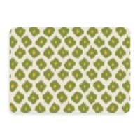 Bungalow Flooring New Wave 22-Inch x 31-Inch Ikat Green Door Mat
