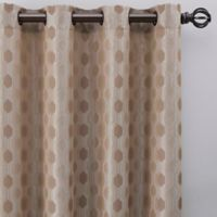 Verde 108-Inch Grommet Window Curtain Panel in Linen