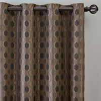 Verde 63-Inch Grommet Window Curtain Panel in Mocha