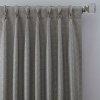 Zacapa 84-Inch Pinch Pleat Window Curtain Panel in French Blue