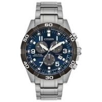 Citizen Eco-Drive Casual Men's 43mm BL5558-58L Chronograph Watch