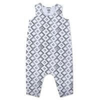 Aimee Kestenberg® Size 6M Squares Coverall in Black/White