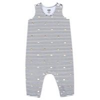 Aimee Kestenberg Size 3M Striped Stars Coverall in Black