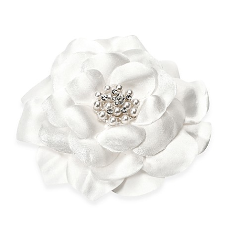 Sweetness Silk and Pearl Flower Hair Accessory