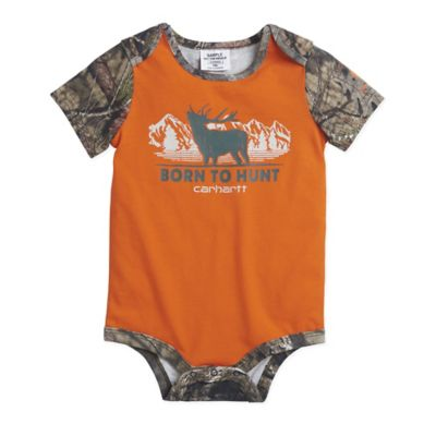 c16951e1f Carhartt® 6M Born to Hunt Camo Bodyshirt in Orange