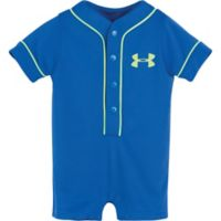 Under Armour® 6-9M Smash Hit Shortall in Blue