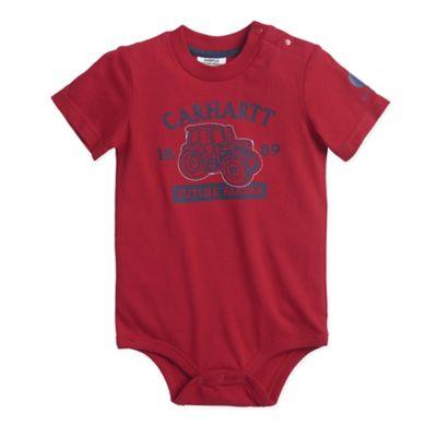 5e6c048ca Carhartt® 6M Farmer Short Sleeve Bodyshirt in Red