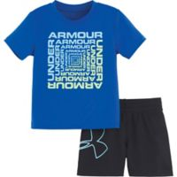 Under Armour® 18M Twist 2-Piece Set in Blue