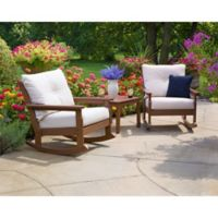 Vineyard 3-Piece Poly-Wood Deep Seat Rocker Set
