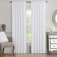 J. Queen New York™ Aida 84-Inch Rod Pocket Window Curtain Panel in White