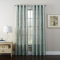 Tuscan 63-Inch Grommet Window Curtain Panel in Spa