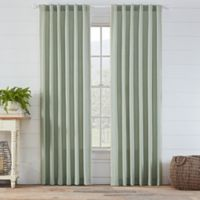 Ellan 95-Inch Rod Pocket/Back Tab Window Curtain Panel in Spa