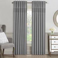 J. Queen New York™ Elsa 63-Inch Window Curtain Panel in Grey