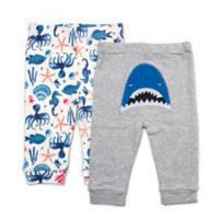 Rosie Pope Baby® Size 3-6M 2-Pack Nautical Shark Pants