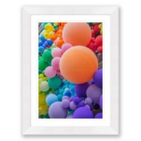 Circles in Square Spaces 23.5-Inch x 31.5-Inch Framed Wall Art