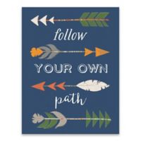 Artissimo Designs™ Follow Your Own Path 14-Inch x 18-Inch Canvas Wall Art