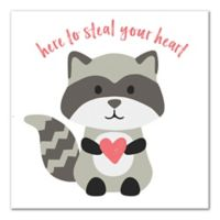 Designs Direct Steal Your Heart 12-Inch Square Canvas Wall Art