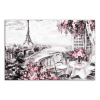 Designs Direct Paris Sketch 16-Inch x 24-Inch Wrapped Canvas