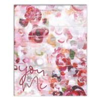 Designs Direct You & Me 16-Inch x 20-Inch Canvas Wall Art