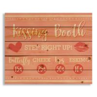 Designs Direct Kissing Booth Ad Pallet Wood Art