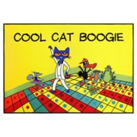 Pete The Cat Cool Cat Boogie 2'11 x 4'3 Non-Skid Accent Rug