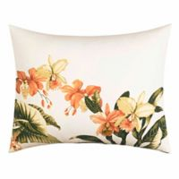 Tommy Bahama® Siesta Key Oblong Throw Pillow in Coral