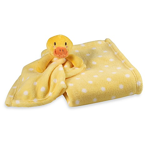 S L Home Fashions Baby Blanket In Yellow Duck Buybuy Baby