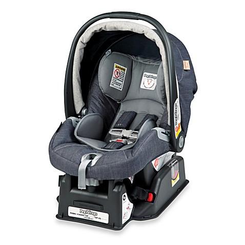 peg perego primo viaggio sip 30 30 infant car seat in denim bed bath beyond. Black Bedroom Furniture Sets. Home Design Ideas