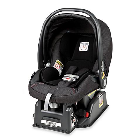 peg perego primo viaggio sip 30 30 infant car seat in denim black bed bath beyond. Black Bedroom Furniture Sets. Home Design Ideas
