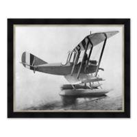 Vintage Flight 1 31.5-Inch x 25.5-Inch Framed Wall Art