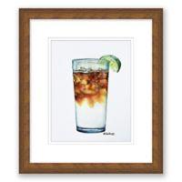 Dark & Stormy 13.5-Inch x 15.5-Inch Framed Wall Art